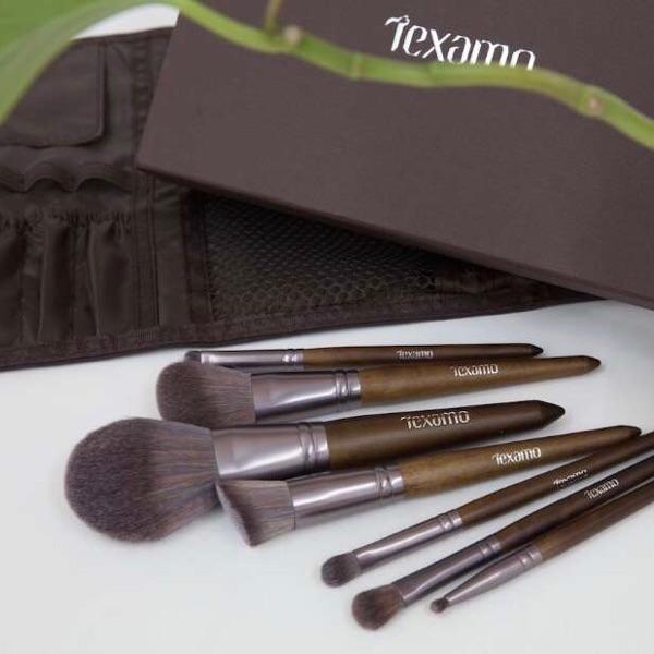 Texamo黛末 木色7支化妆套刷