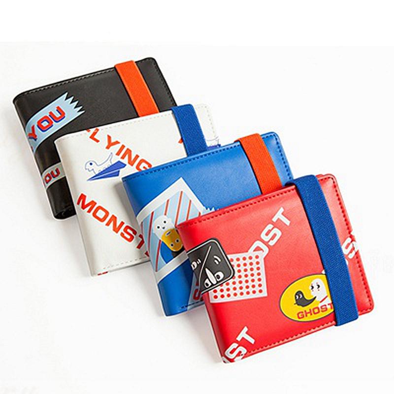 yizi创意两折叠钱包