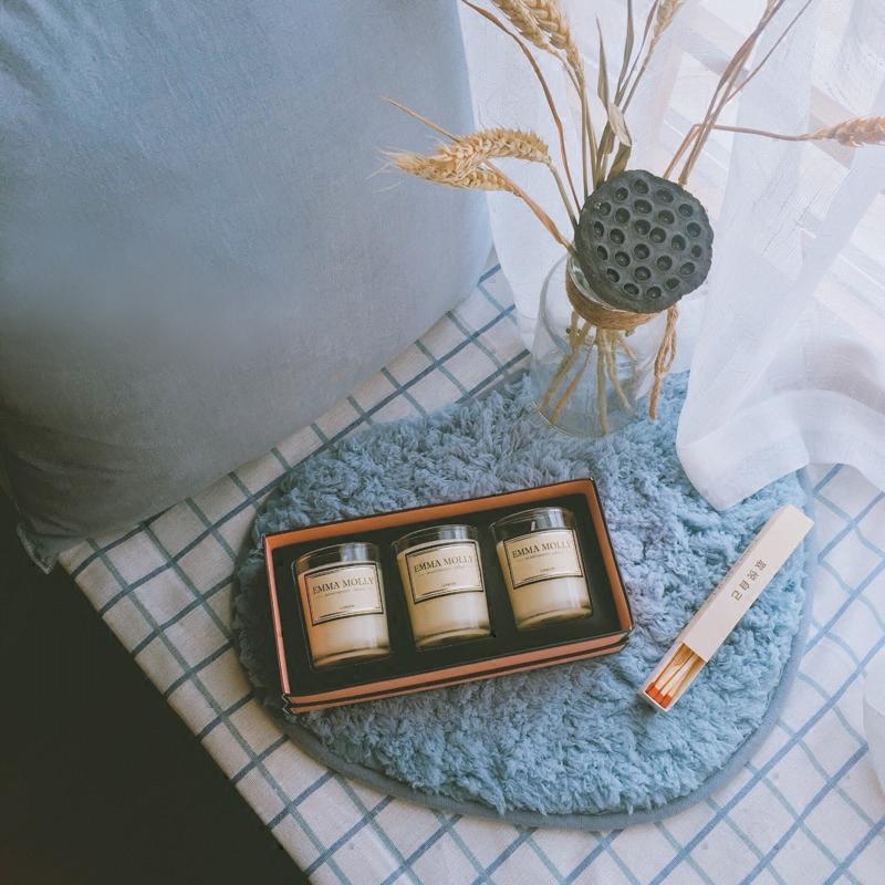 EMMA MOLLY天然精油香薰蜡烛 无烟香氛礼盒
