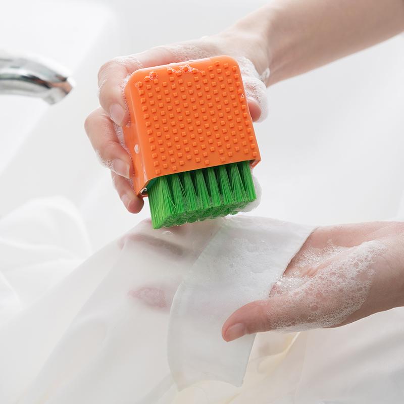 硅胶软毛洗衣刷