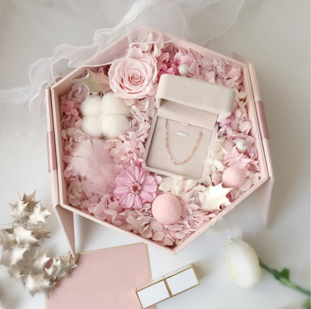 7号花园 浪漫玫瑰花盒