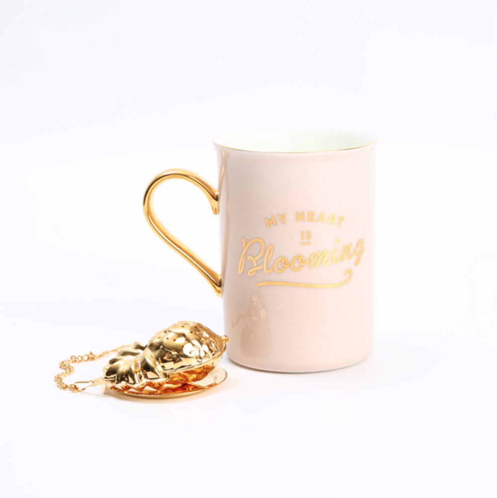 THE BEAST/野兽派 骨瓷马克杯 带茶漏