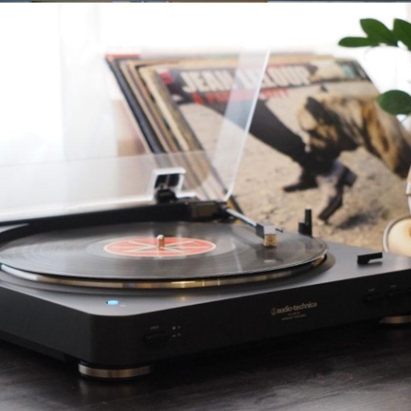 陈奕迅最爱的生活情调:Audio Technica 铁三角黑胶唱片机