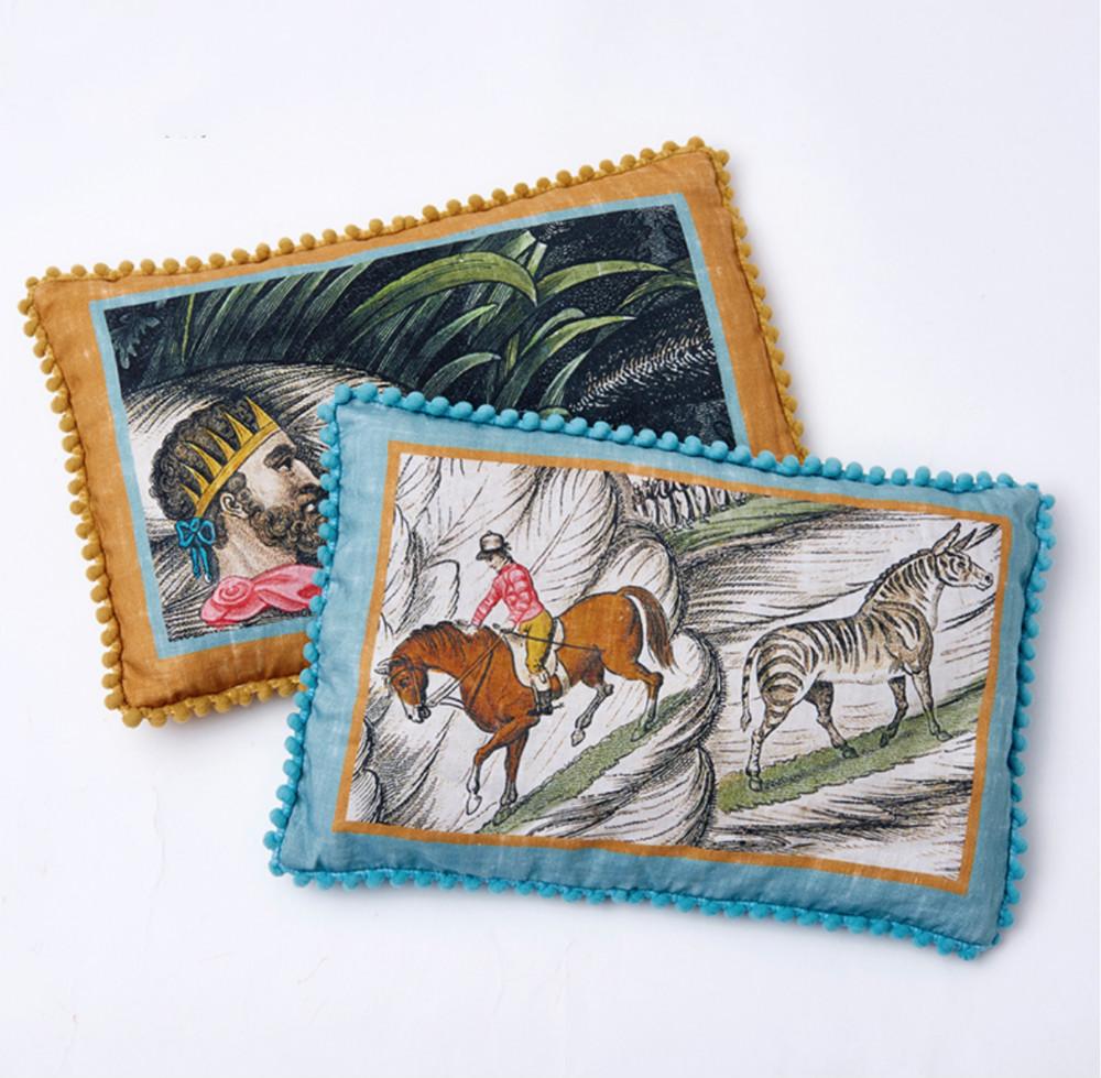 THE BEAST/野兽派 大英博物馆健康荞麦枕 时髦靠垫