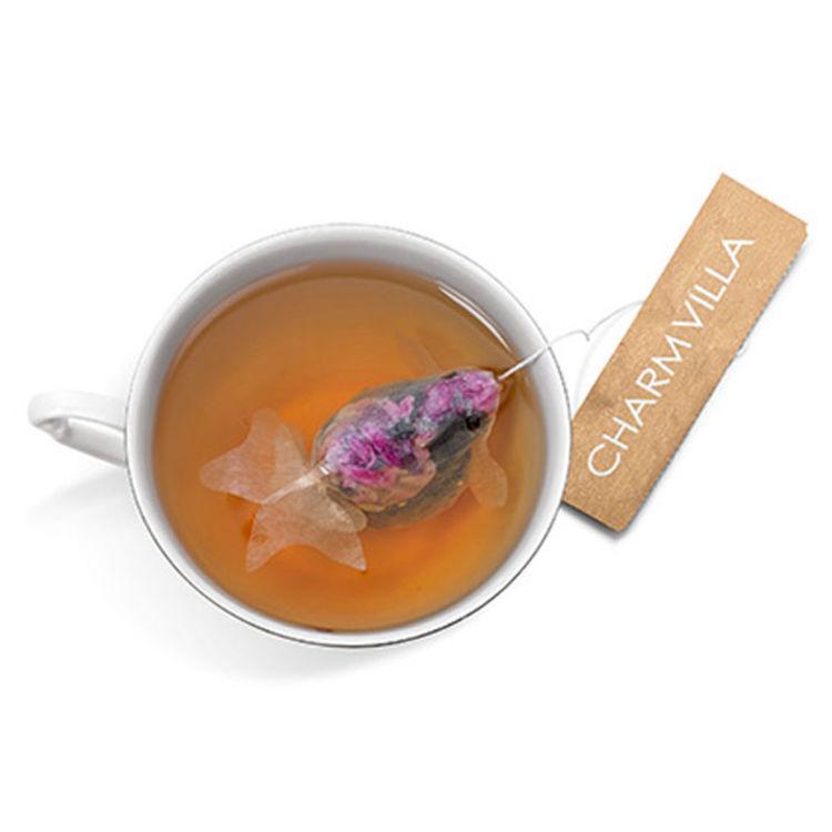 鱼是美好发生了:Charm Villa金鱼茶包
