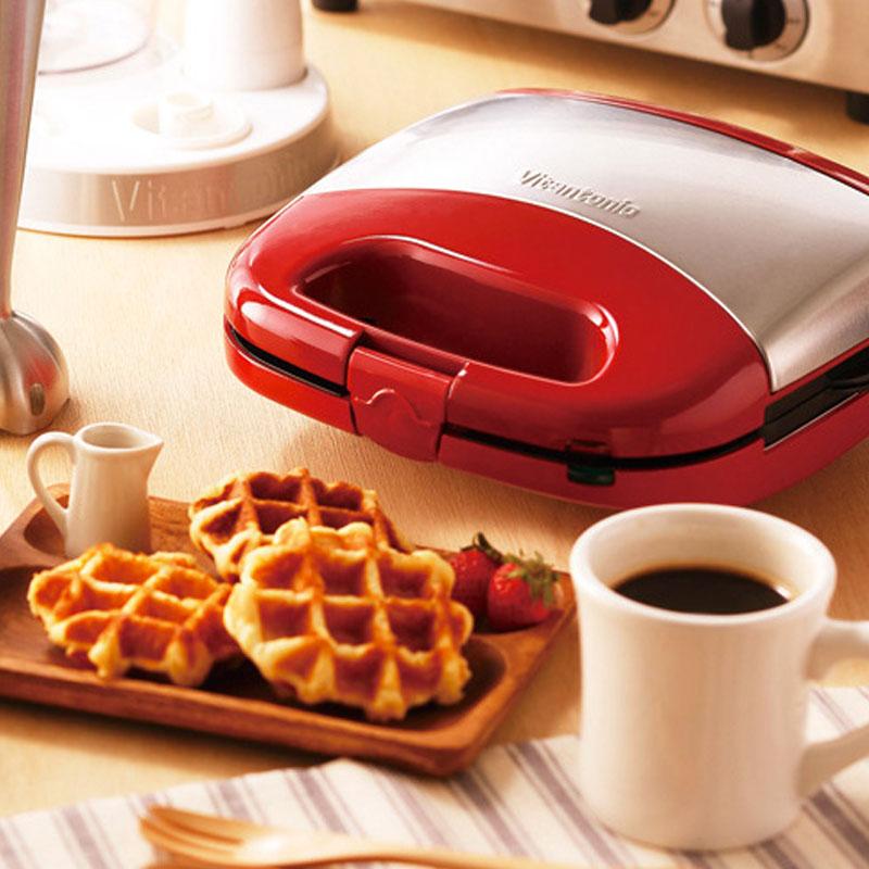 一个松饼机,给我做了十种糕点:日本VITANTONIO华夫饼机