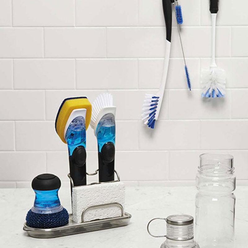 手不沾水也能洗碗:美国OXO皂液餐具刷