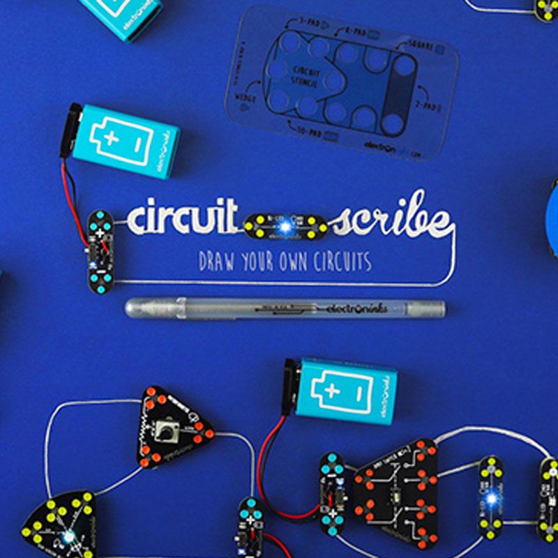 创意十足的撩妹神器:circuit scribe 导电墨水笔