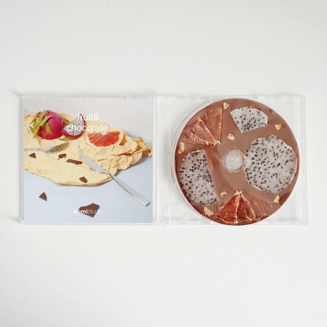 komistudio 火龙果西柚CD手工巧克力伴手礼生日礼物零食送女友