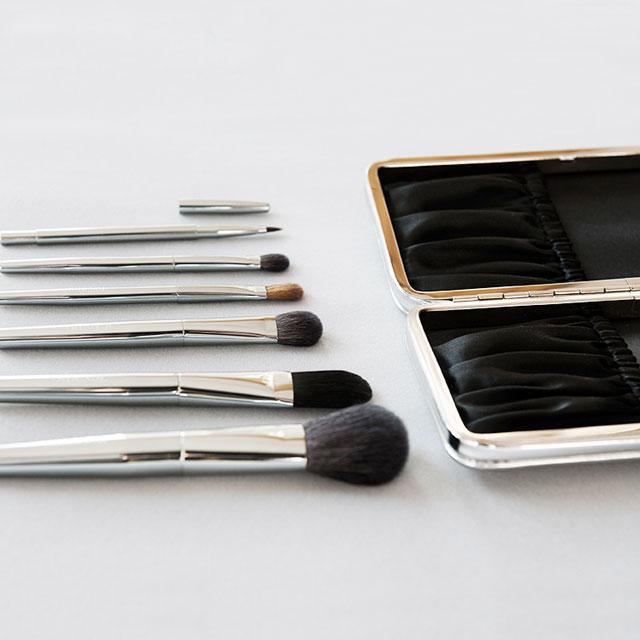 Texamo 黛末化妆刷 焕然系列金属色6支套刷 含刷包