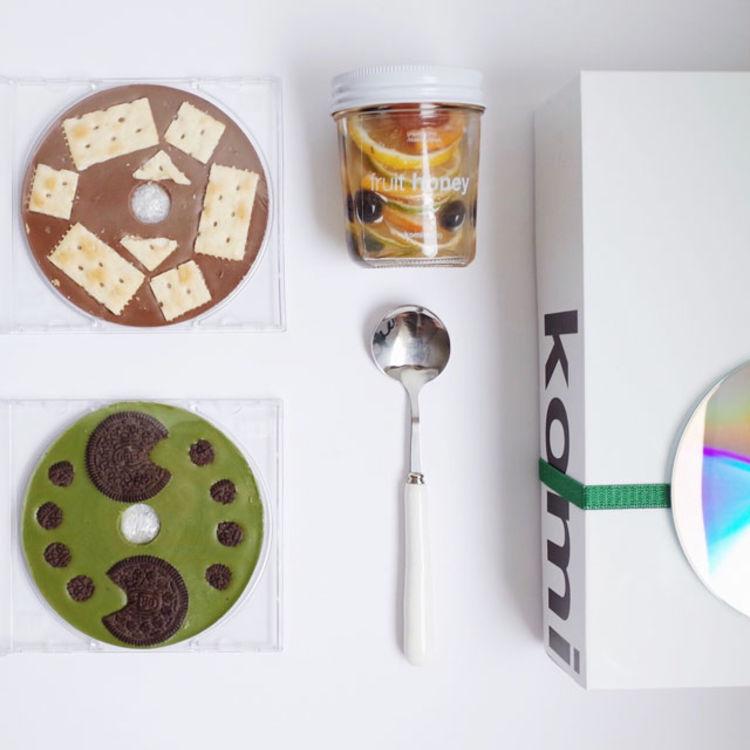 komistudio CD手工巧克力礼盒伴手礼生日礼物零食送女友包顺丰