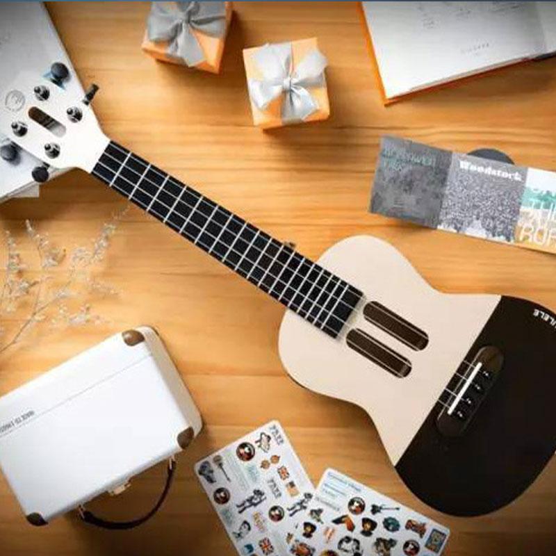 同时刷爆了音乐科技文艺圈:populele智能尤克里里