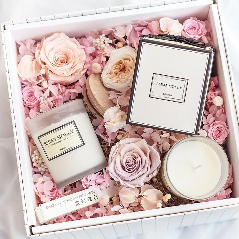 天然大豆蜡烛礼盒 进口精油香薰