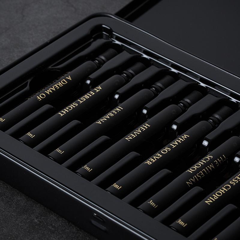RE CLASSIFIED调香室 3ml中性香水10支试用装礼盒