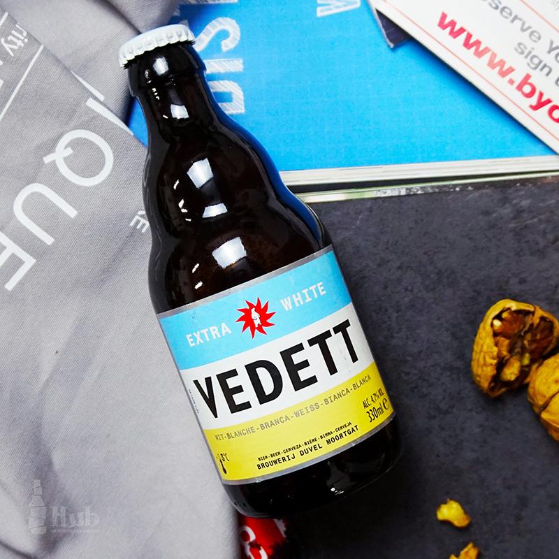 比利时精酿 白熊啤酒Vedett extra white330ml*6瓶