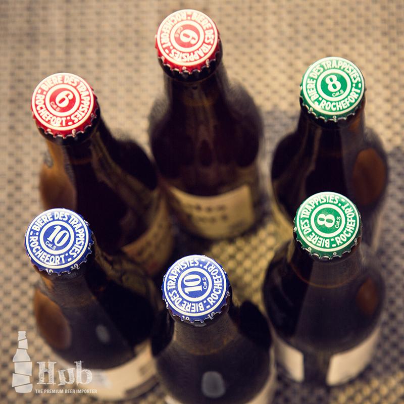 比利时罗斯福Rochefort 修道院精酿啤酒 6/8/10号组合6瓶