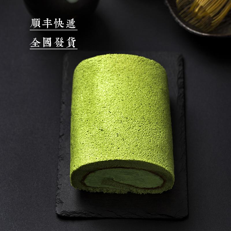 竹寿屋蛋糕卷 抹茶红豆瑞士卷