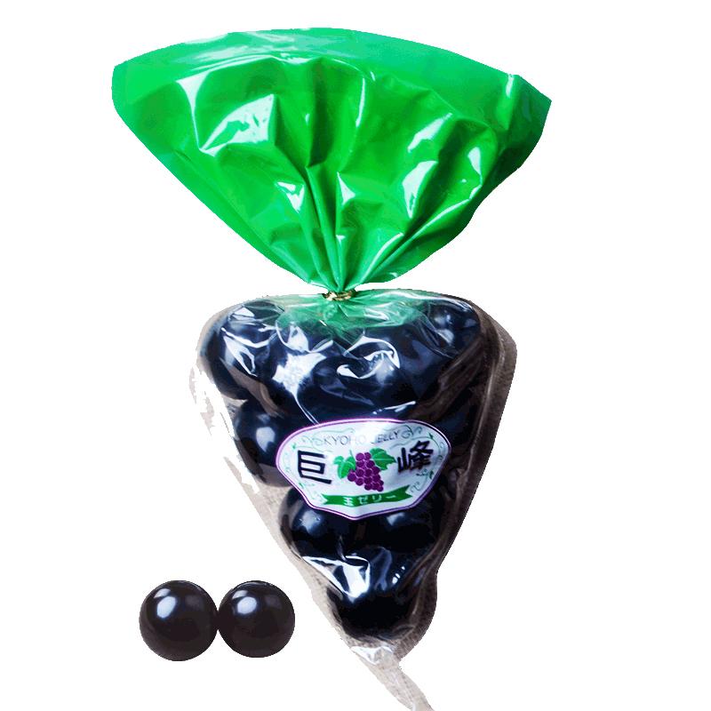 富士山 巨峰葡萄果冻 水晶气球布丁13粒