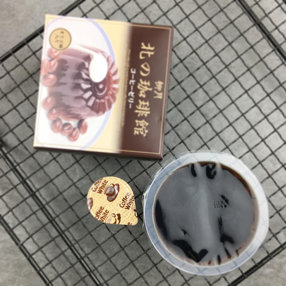 日本进口 北海道柳月北の珈琲馆 奶咖啡果冻