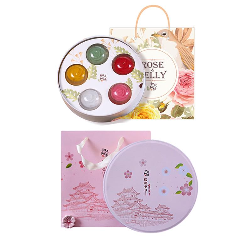 和风细语 日式玫瑰樱花果冻 布丁礼物