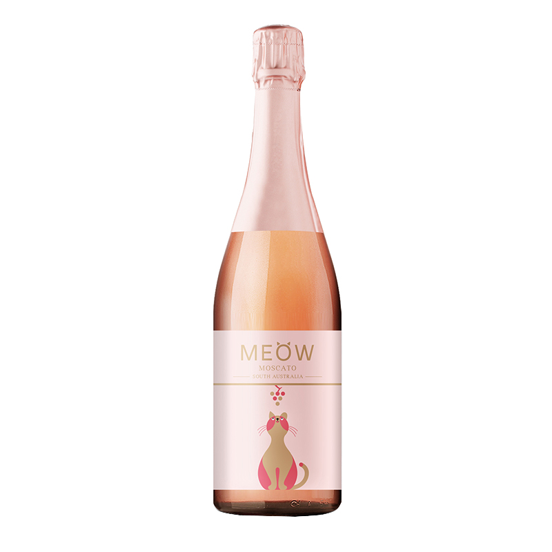 澳洲MEOW莫斯卡托 桃红起泡葡萄酒