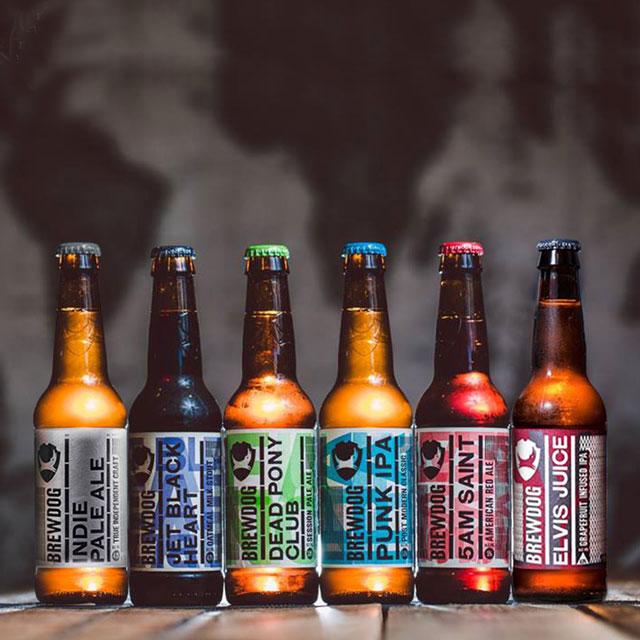酿酒狗Brewdog 英国进口 经典6瓶组合