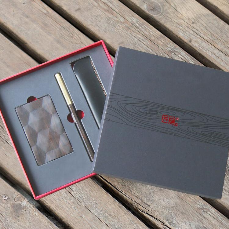 原创签字笔·名片盒,私人定制,为Ta打造一份专属礼物