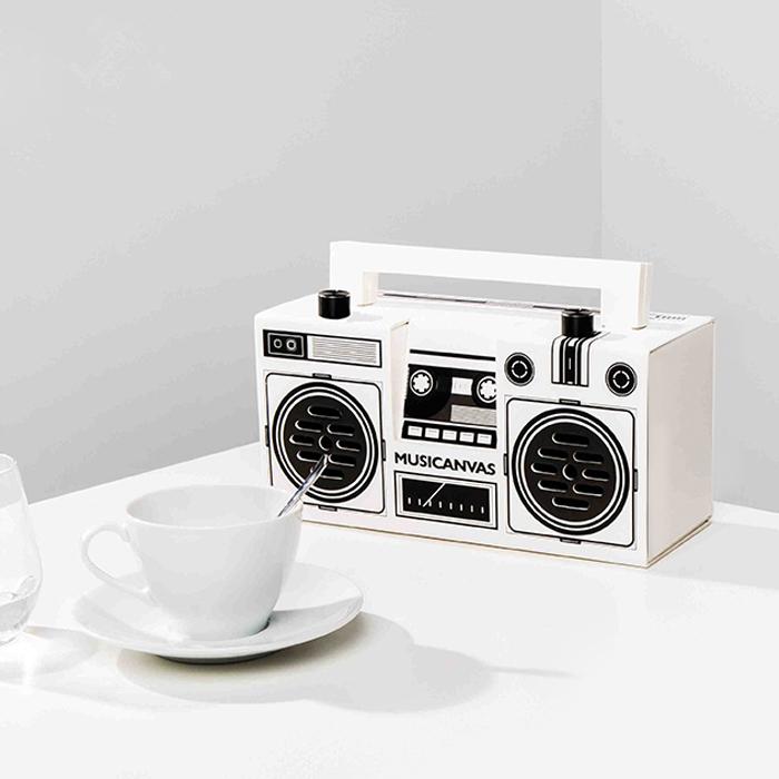 Musicanvas Originals复古蓝牙收音机音箱