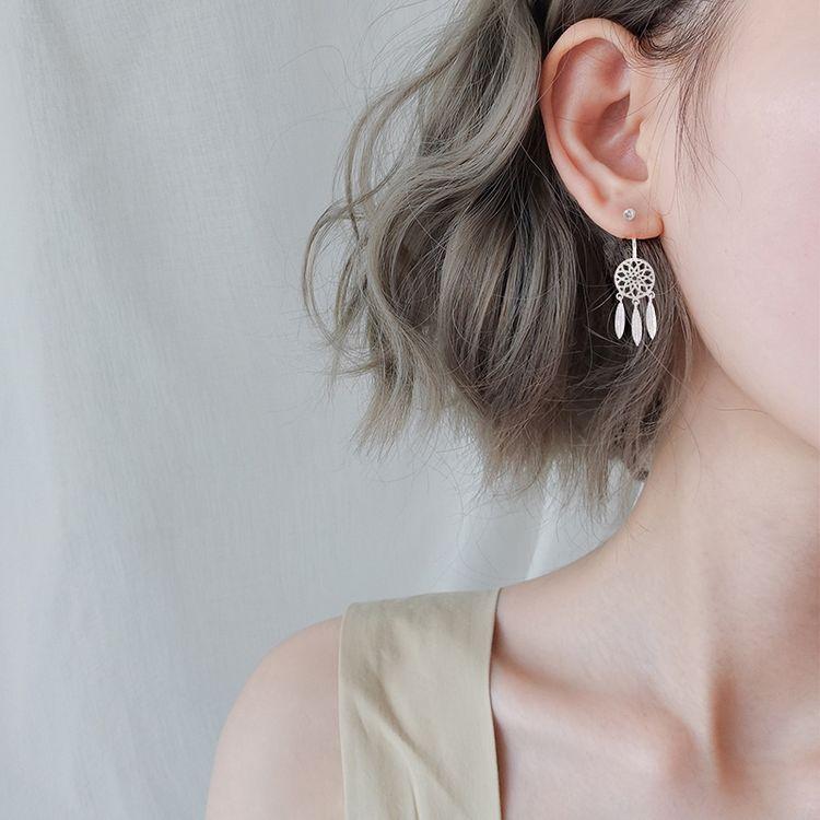 一款耳钉两种戴法,相信我,你戴首饰的样子特别美