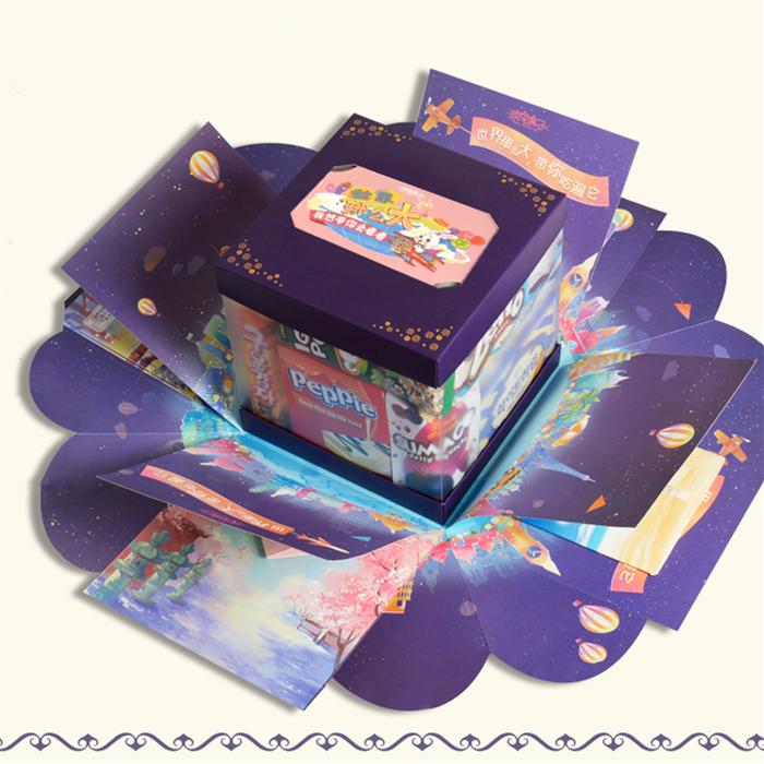 疯兔盒子新品 会爆炸的零食大礼包邮送女友生日惊喜礼物