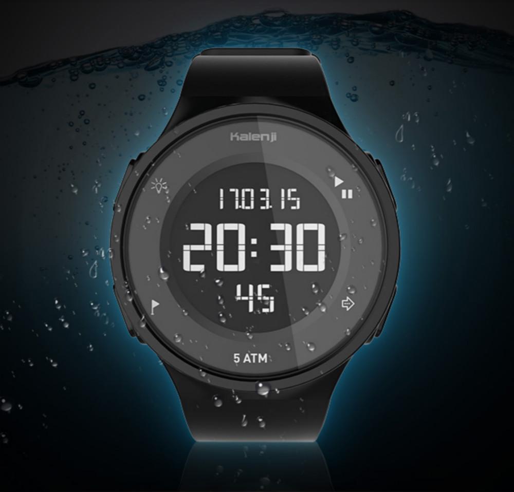 迪卡侬 防水运动手表