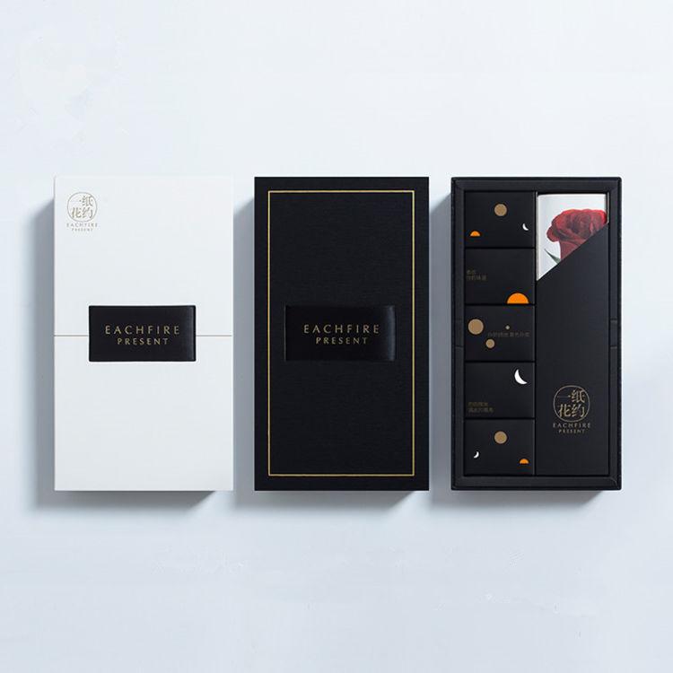 一纸花约晚安喵巧克力礼盒装送男女友情人节礼物零食(代可可脂)