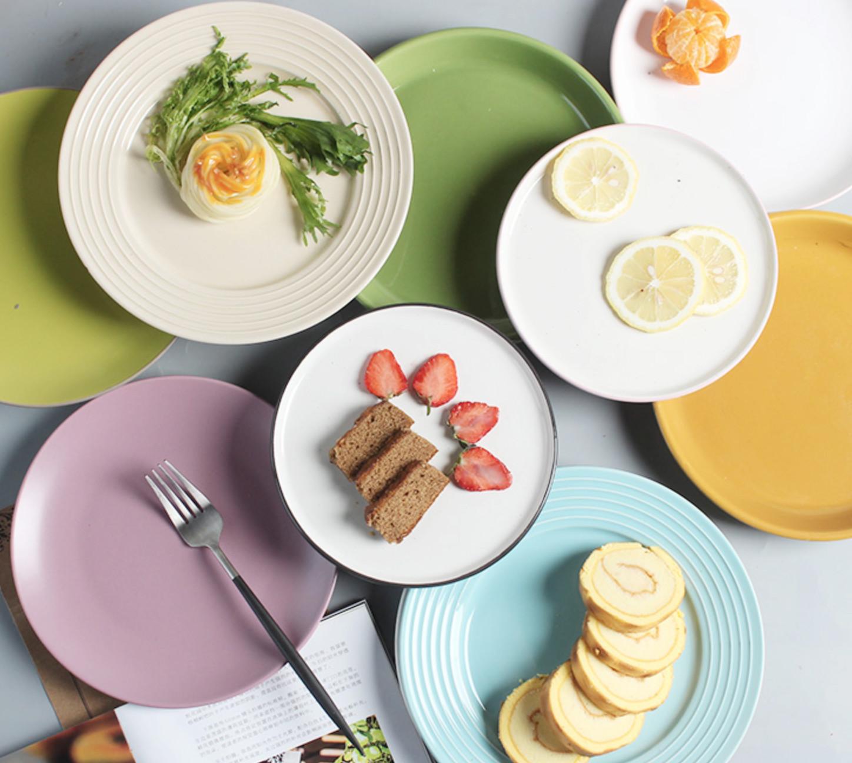 北欧陶瓷个性不规则餐