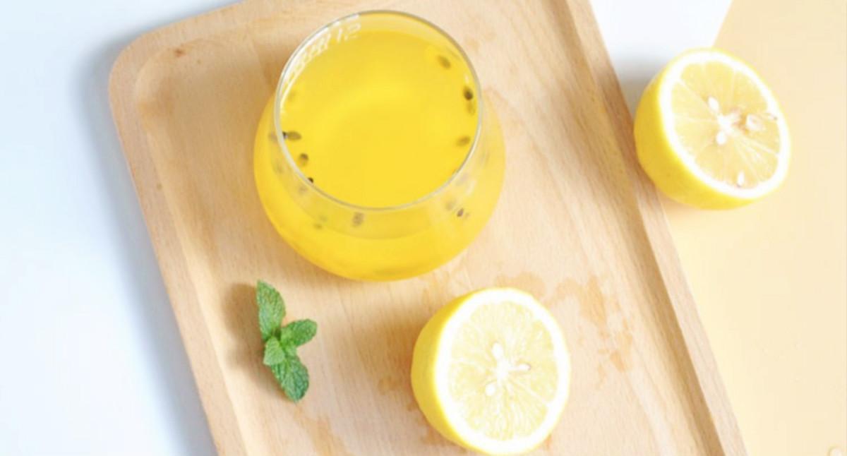 满分夏日丨自制百香果柠檬蜂蜜饮