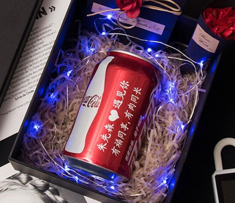 定制可乐diy礼物