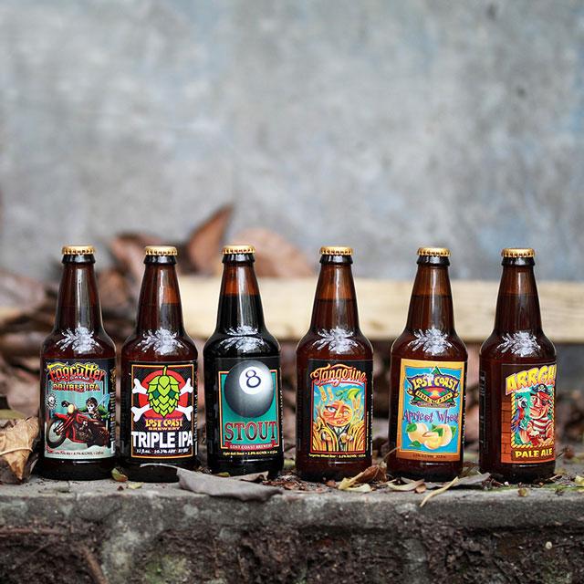 美国西海岸酒厂 迷失海岸6口味精酿啤酒组合