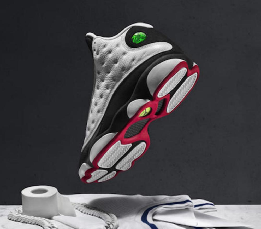 AJ13黑白熊猫篮球鞋