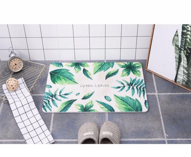 天然硅藻泥脚垫 浴室吸水