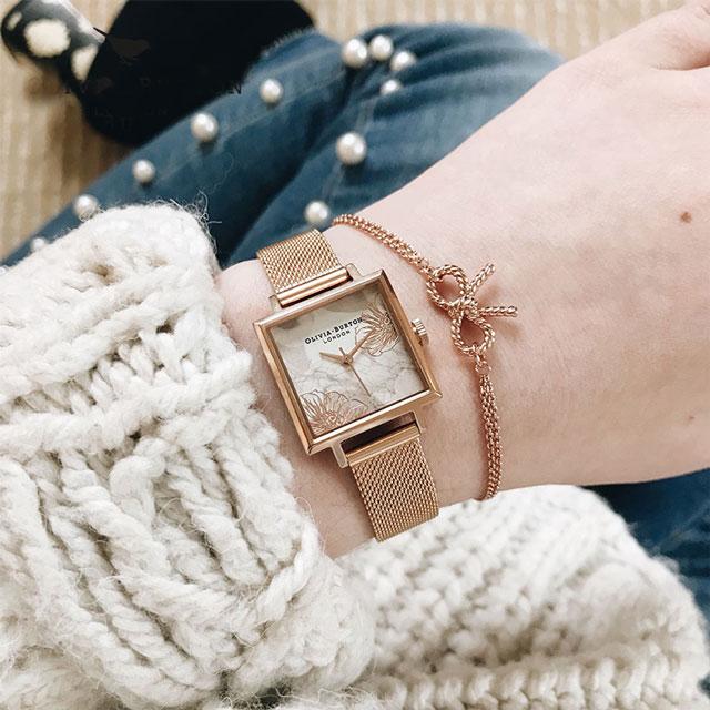 OliviaBurton 英国欧式时尚钢带表