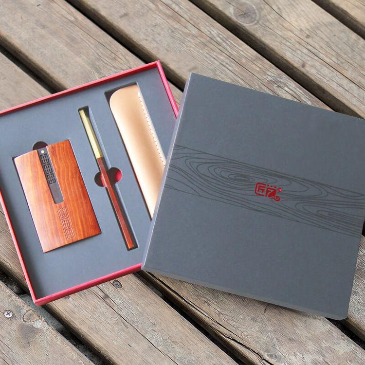 原创签字笔·名片盒,有这些颜值爆表的礼盒,送礼就够了!