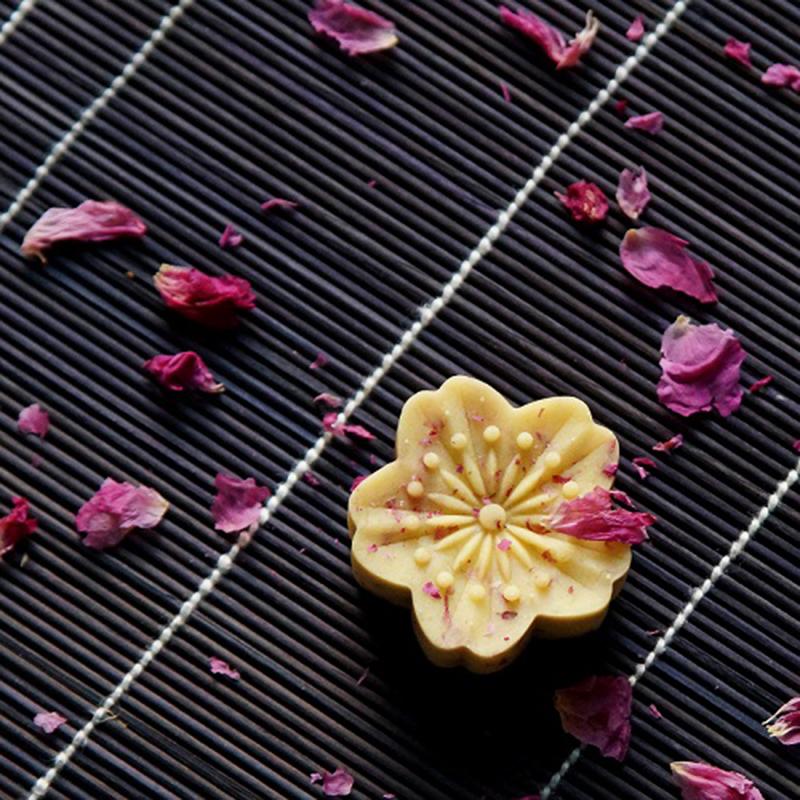 素直 玫瑰绿豆糕 杭州传统茶点