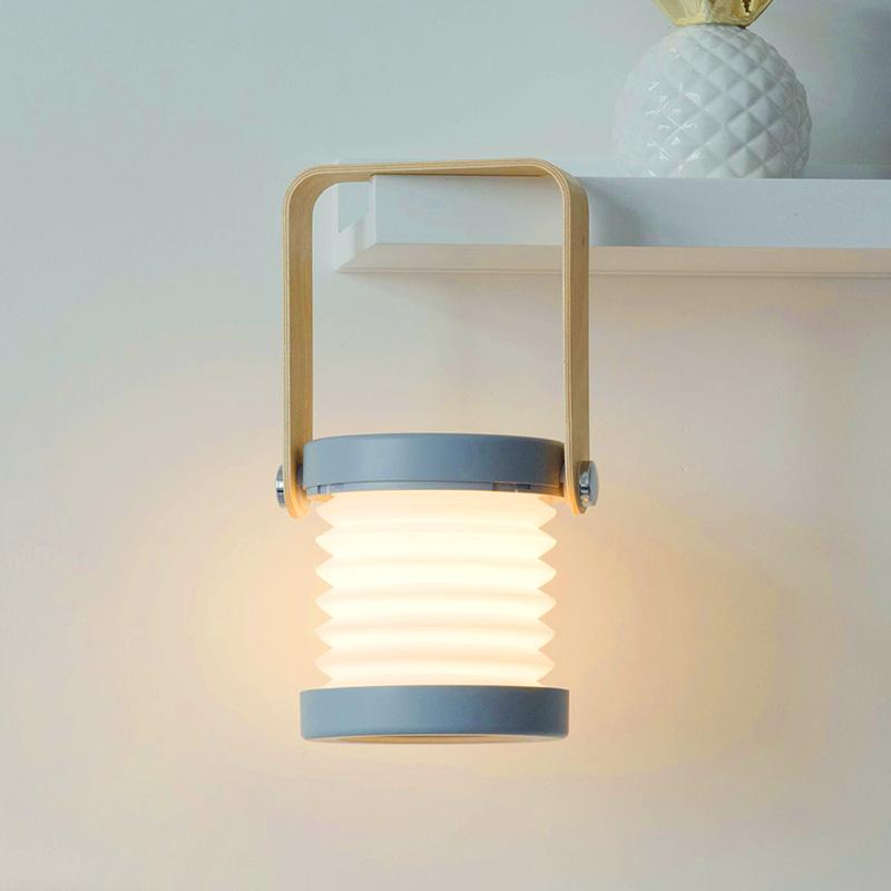 创意充电折叠灯笼 暖光小夜灯 调光