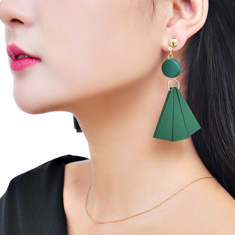 几何森系耳环