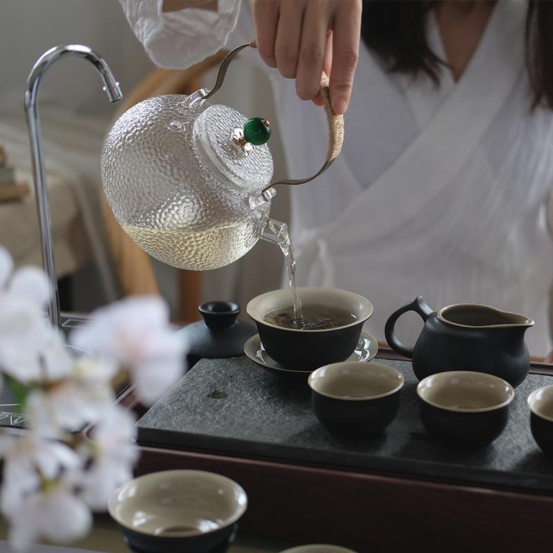 简约现代日式玻璃茶具套装