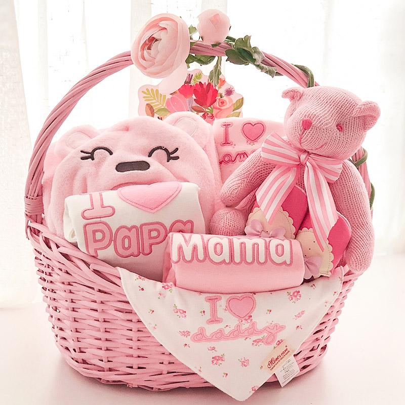 婴儿礼盒秋装衣服 满月礼物