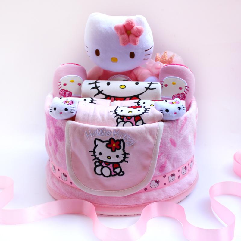 hello kitty新生儿纯棉婴儿礼盒