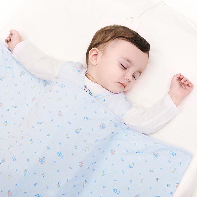 英氏婴儿小被子枕头组合