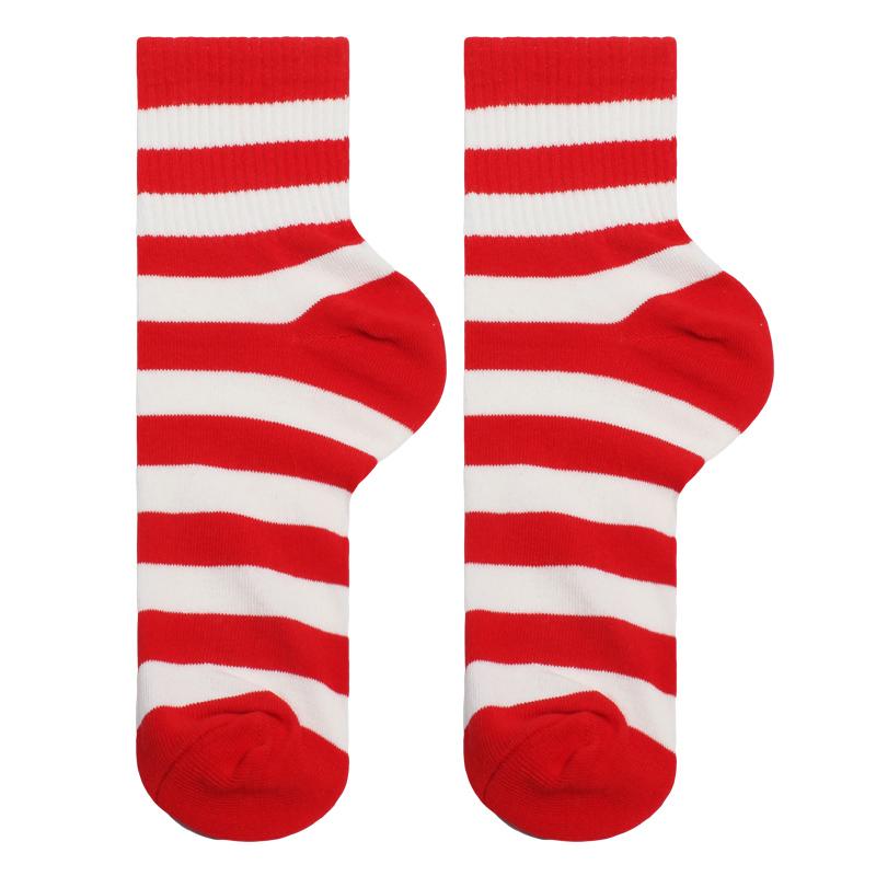 ins风本命年红袜子