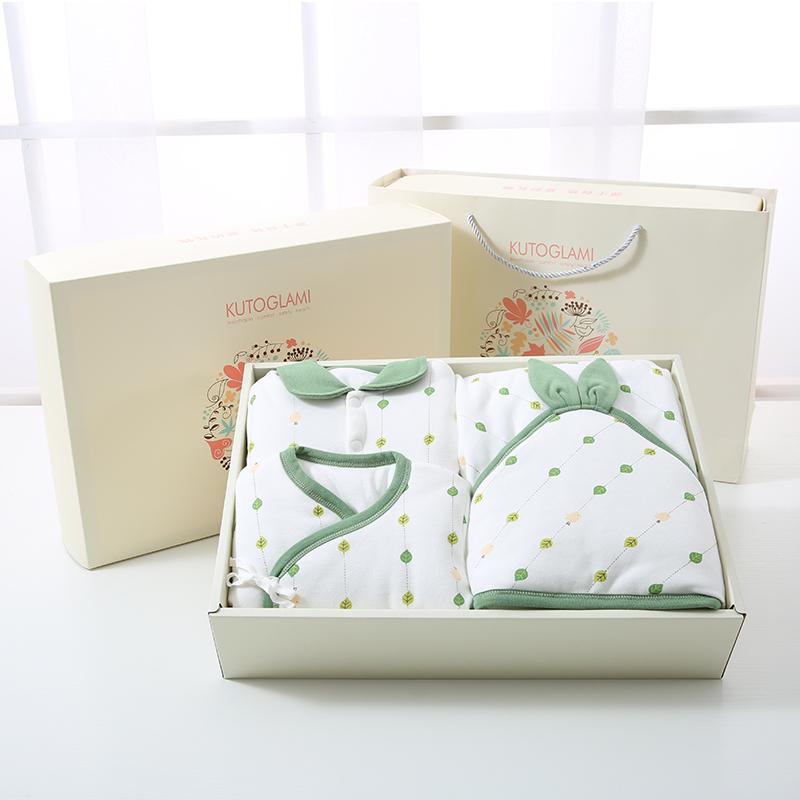 婴儿棉衣套装礼盒