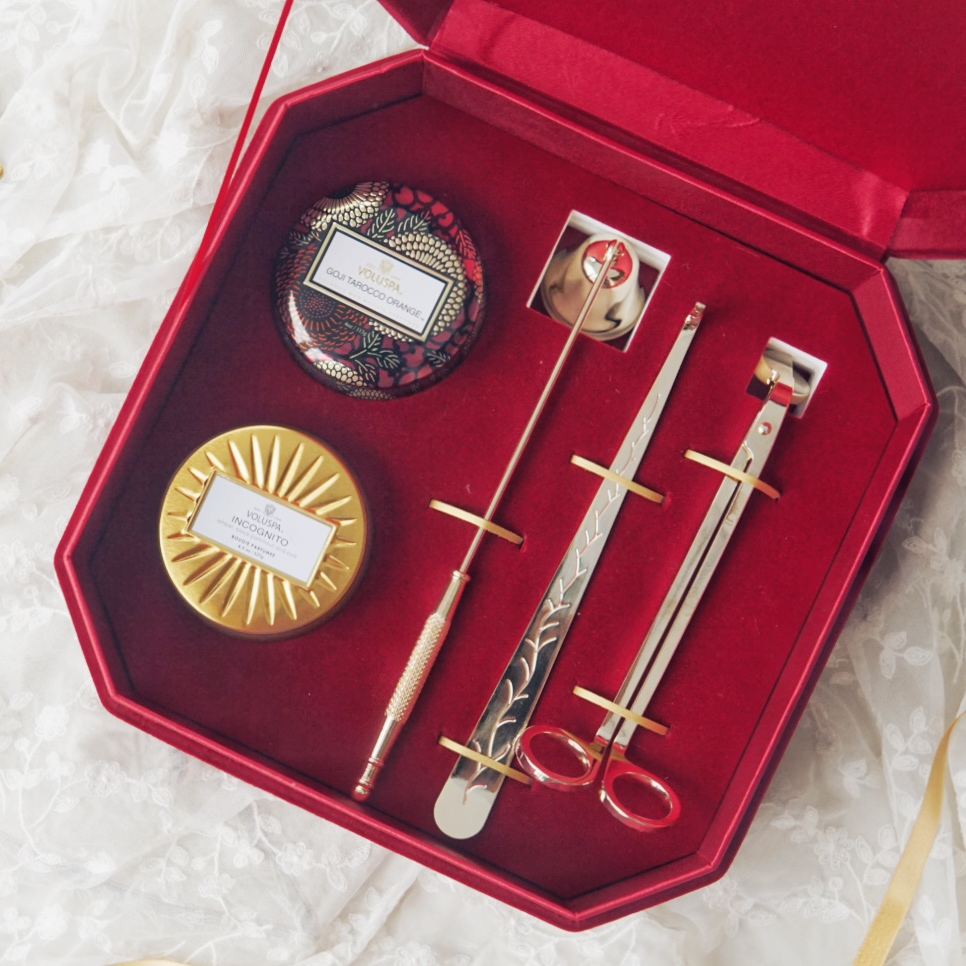 voluspa香薰蜡烛三件套礼盒